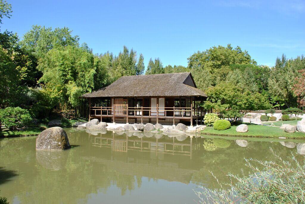 qué ver en el jardín japonés de Toulouse