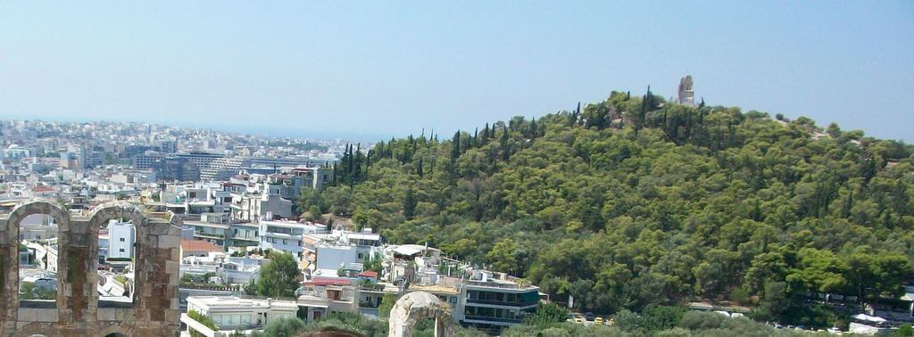 Collina de Filopapo, Atenas