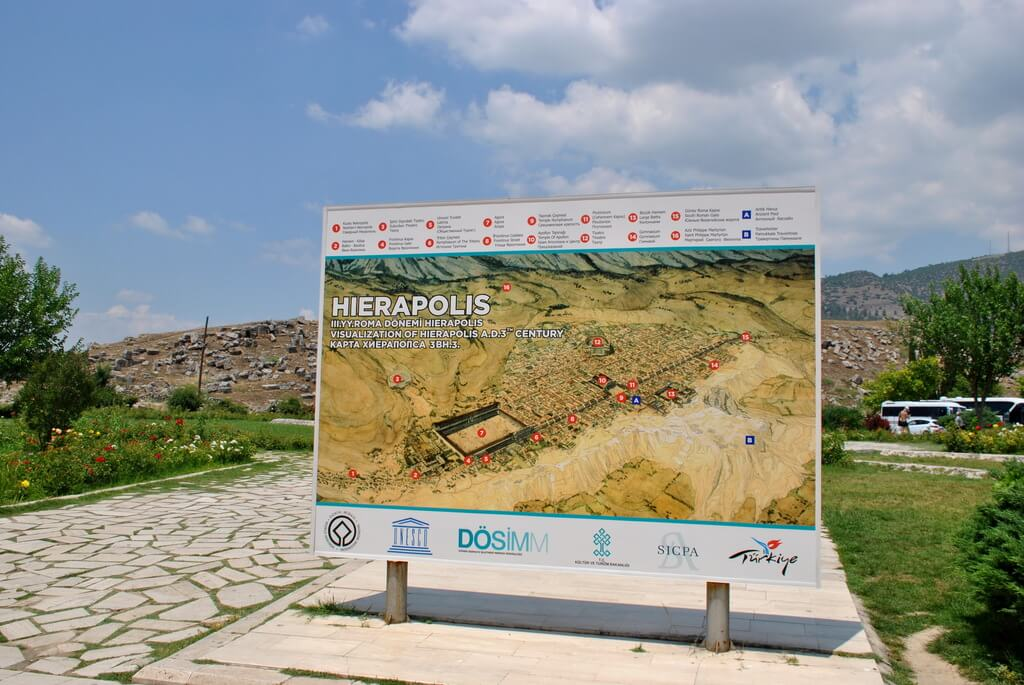 qué ver en Hierápolis