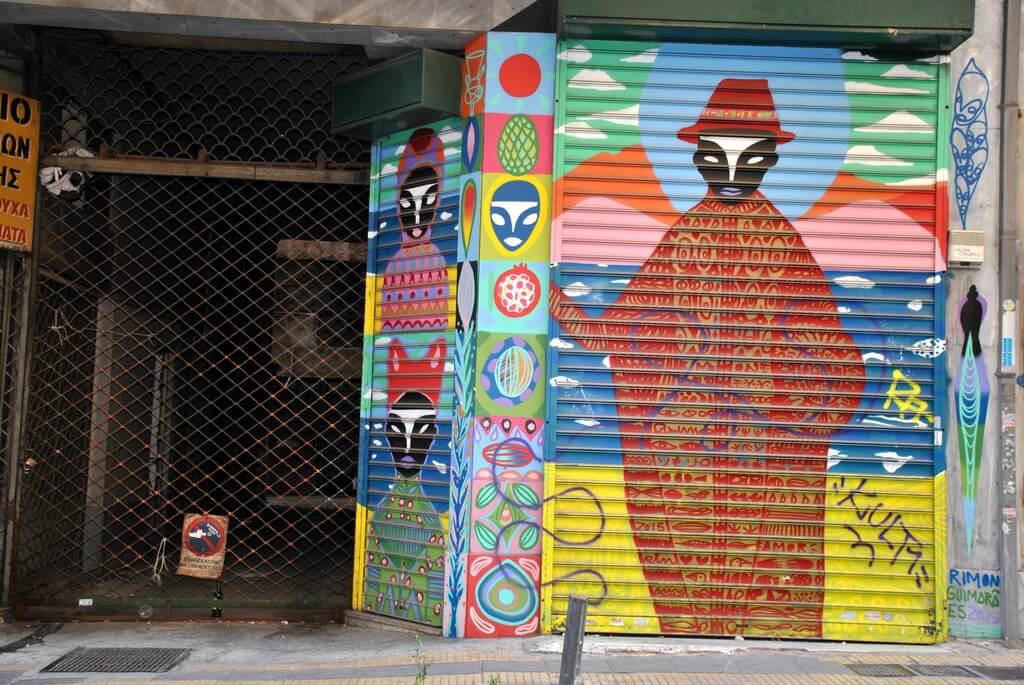 Psiri, barrio de Atenas