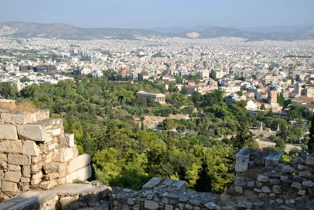mejores miradores de Atenas