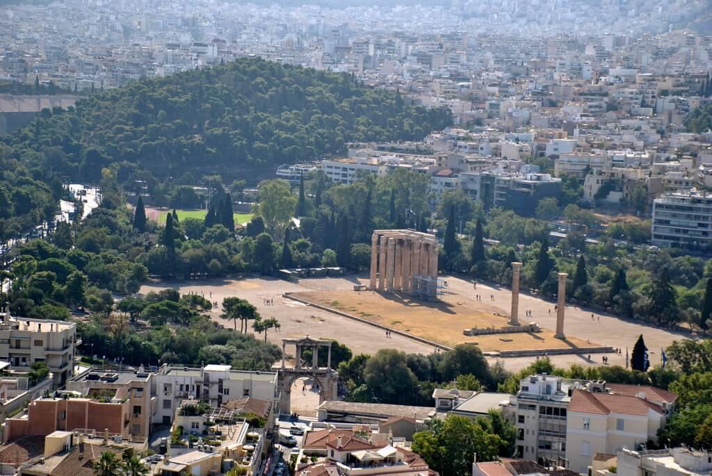 los mejores miradores de Atenas