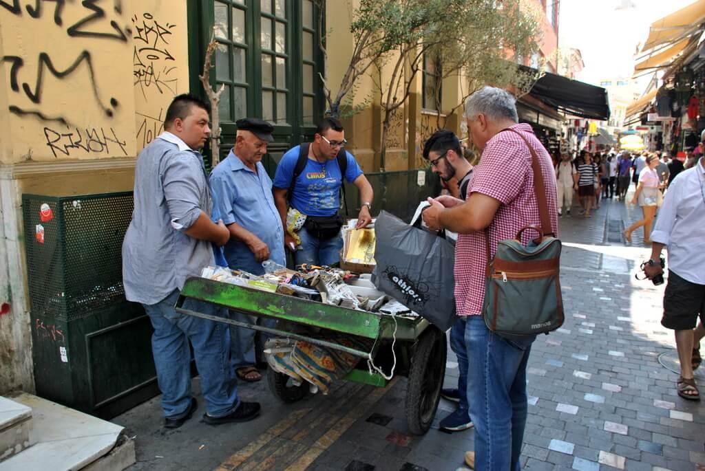 qué ver en Atenas, mercadillos callejeros
