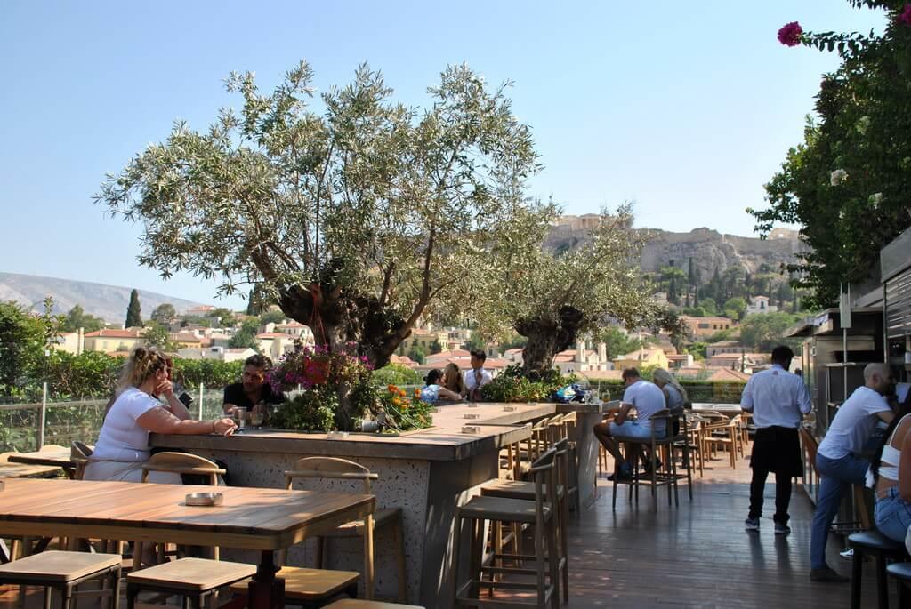 restaurante bar 360º Atenas