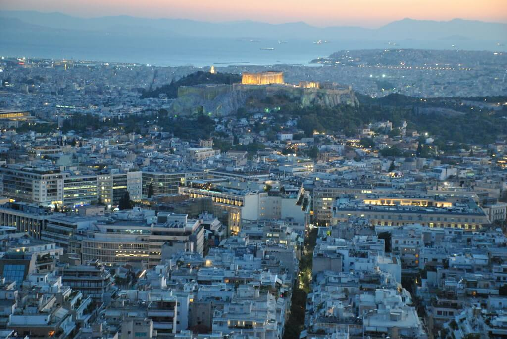 monte licabeto. Los mejores miradores de Atenas