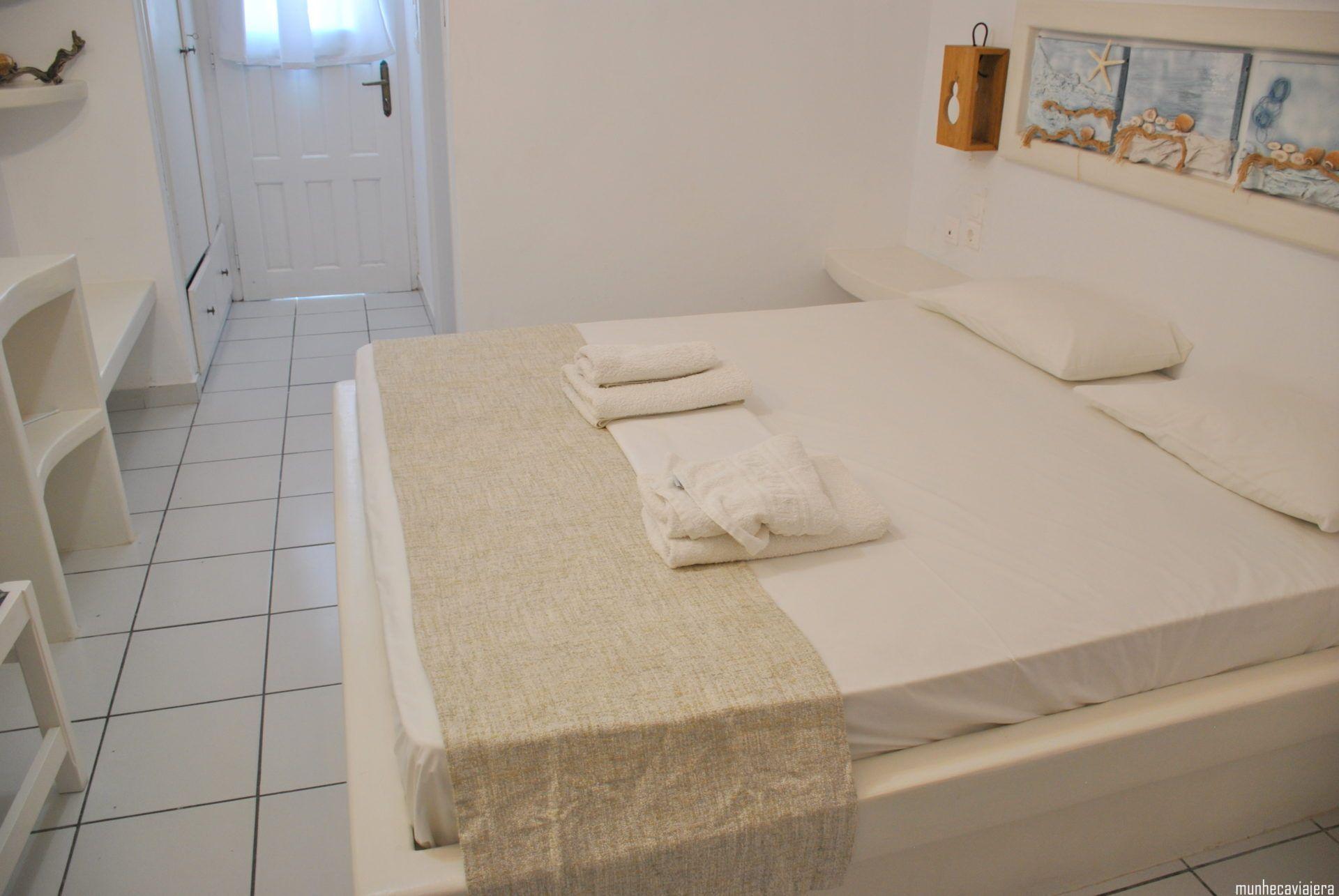 dormir en Milos