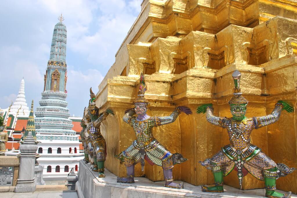 decoración Gran Palacio de Bangkok