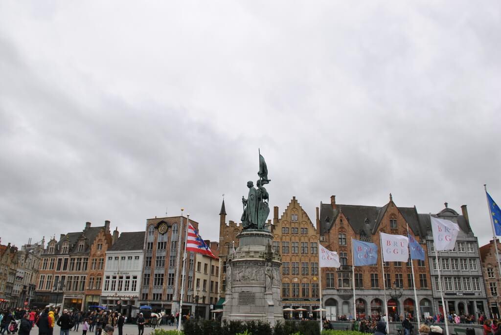 Plaza Markt, Brujas