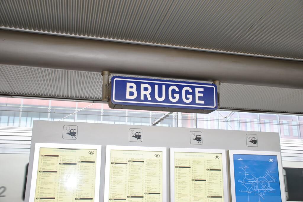 estación de tren de Brujas