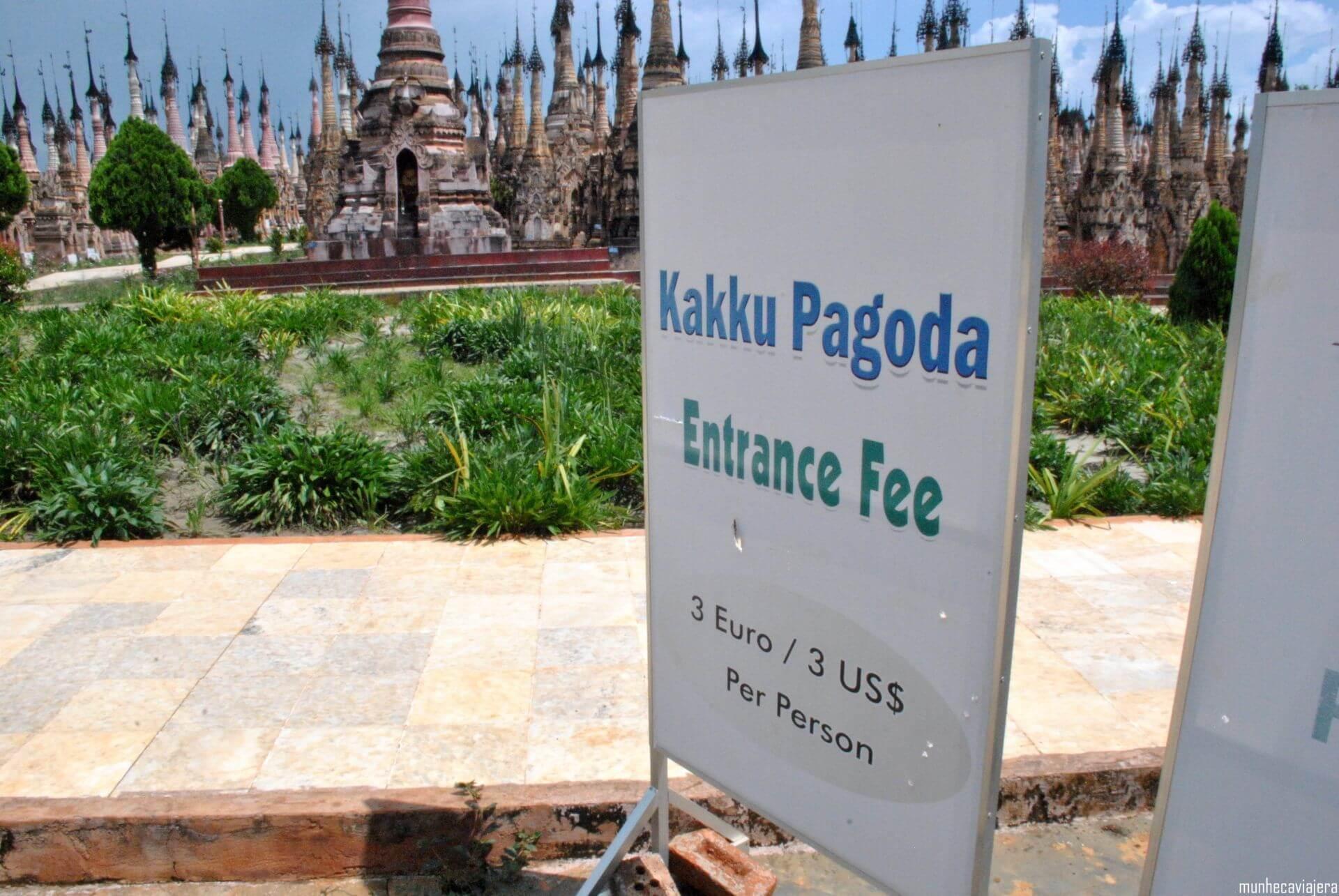 entrada al recinto de Kakku