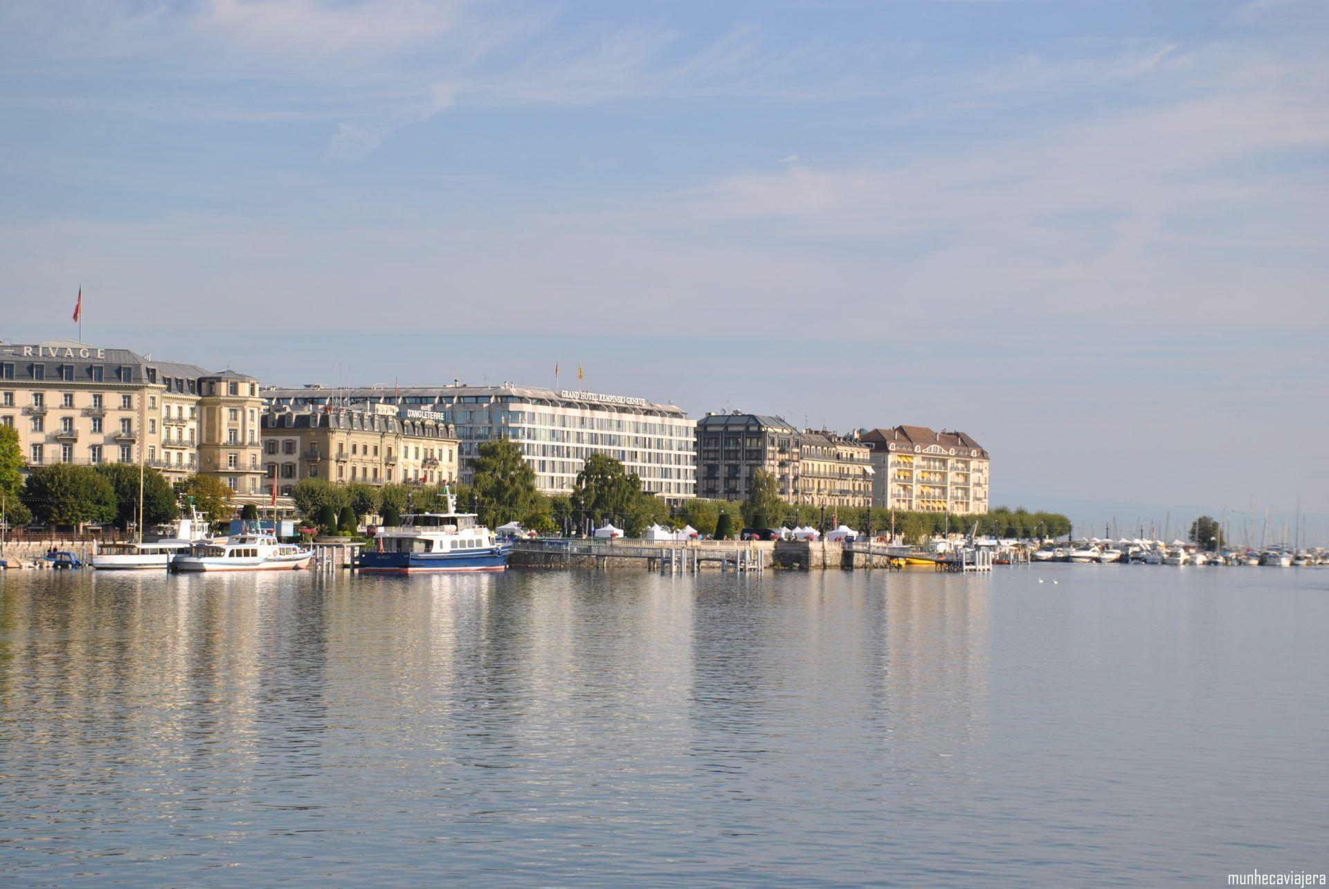 10 lugres que ver en Ginebra