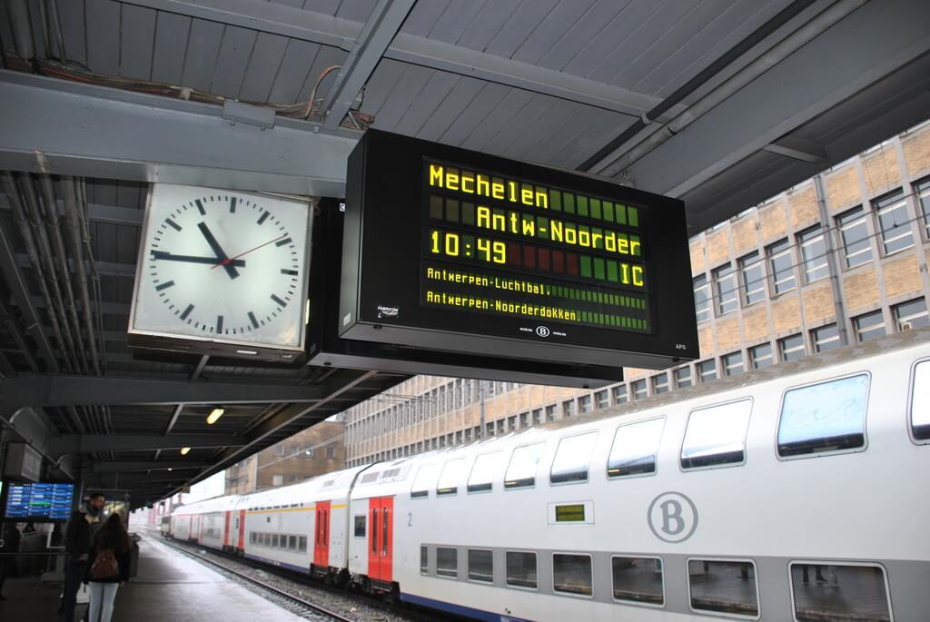 estación del norte, Bruselas
