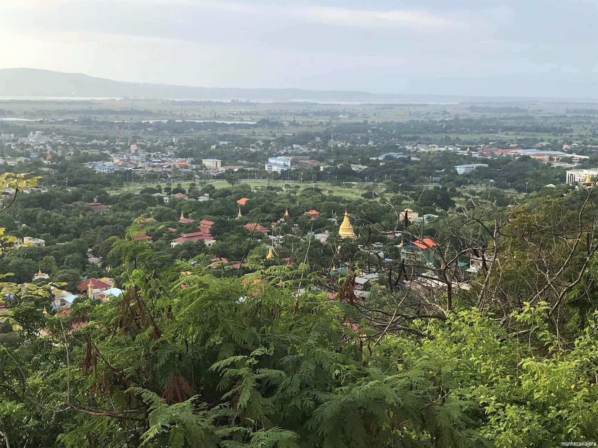 vistas de Mandalay
