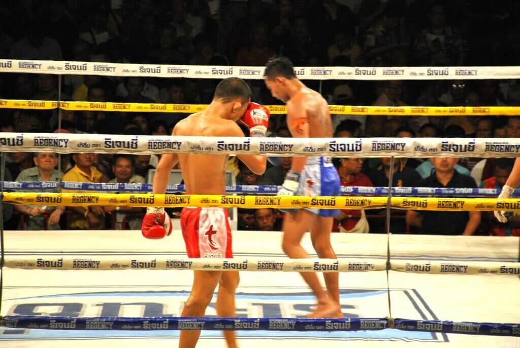 <strong>Combate de Muay Thai</strong>