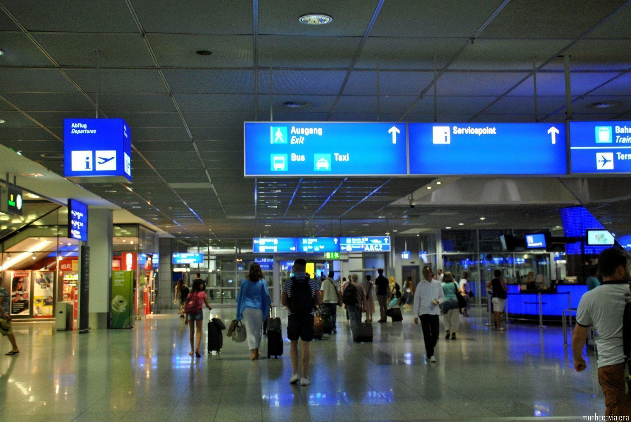 cómo ir del aeropuerto de Franfurt al centro
