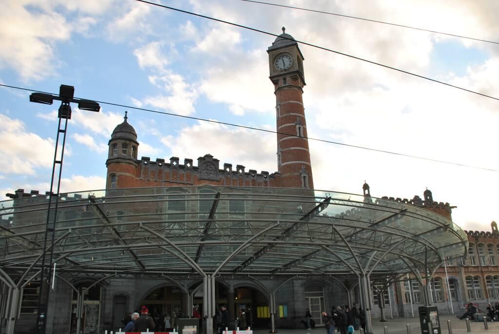 estación trenes Gante