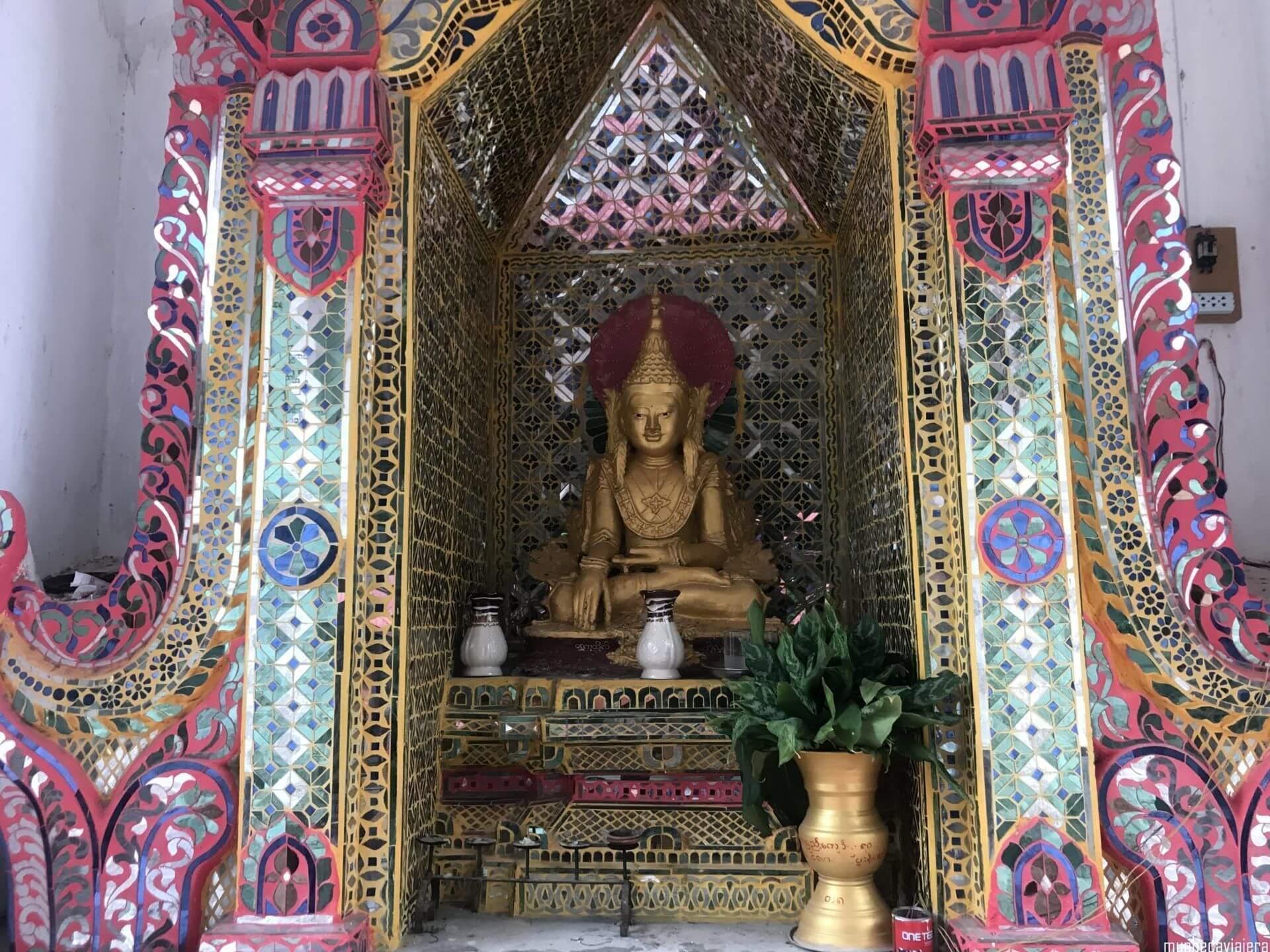 subida a la Mandalay Hill
