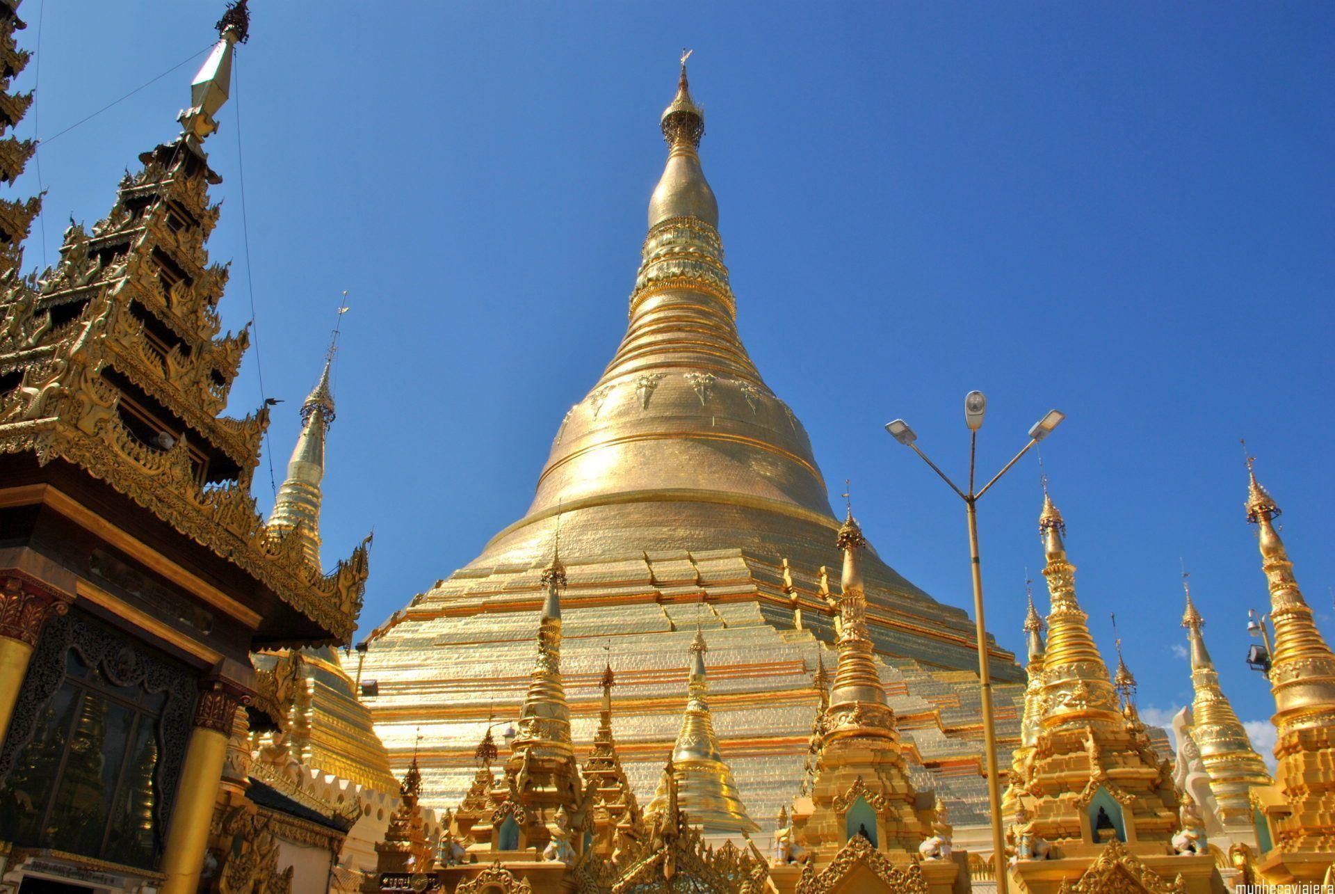 Shwedagon Pagoda de Yangon