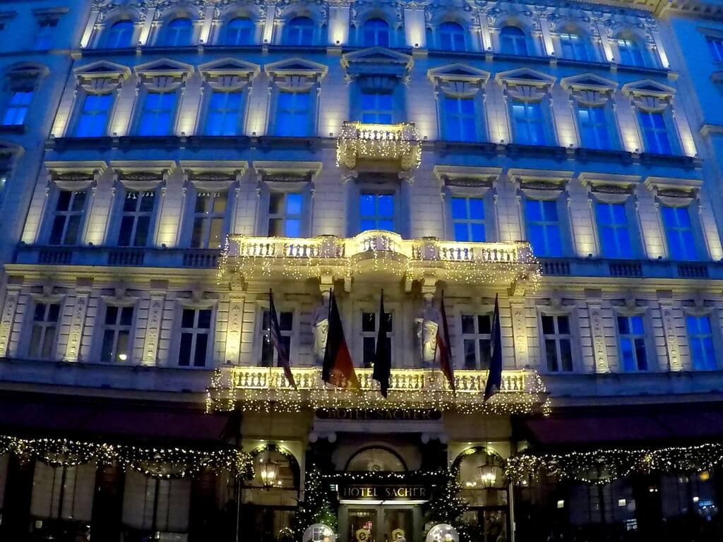 hotel Sacher, Viena