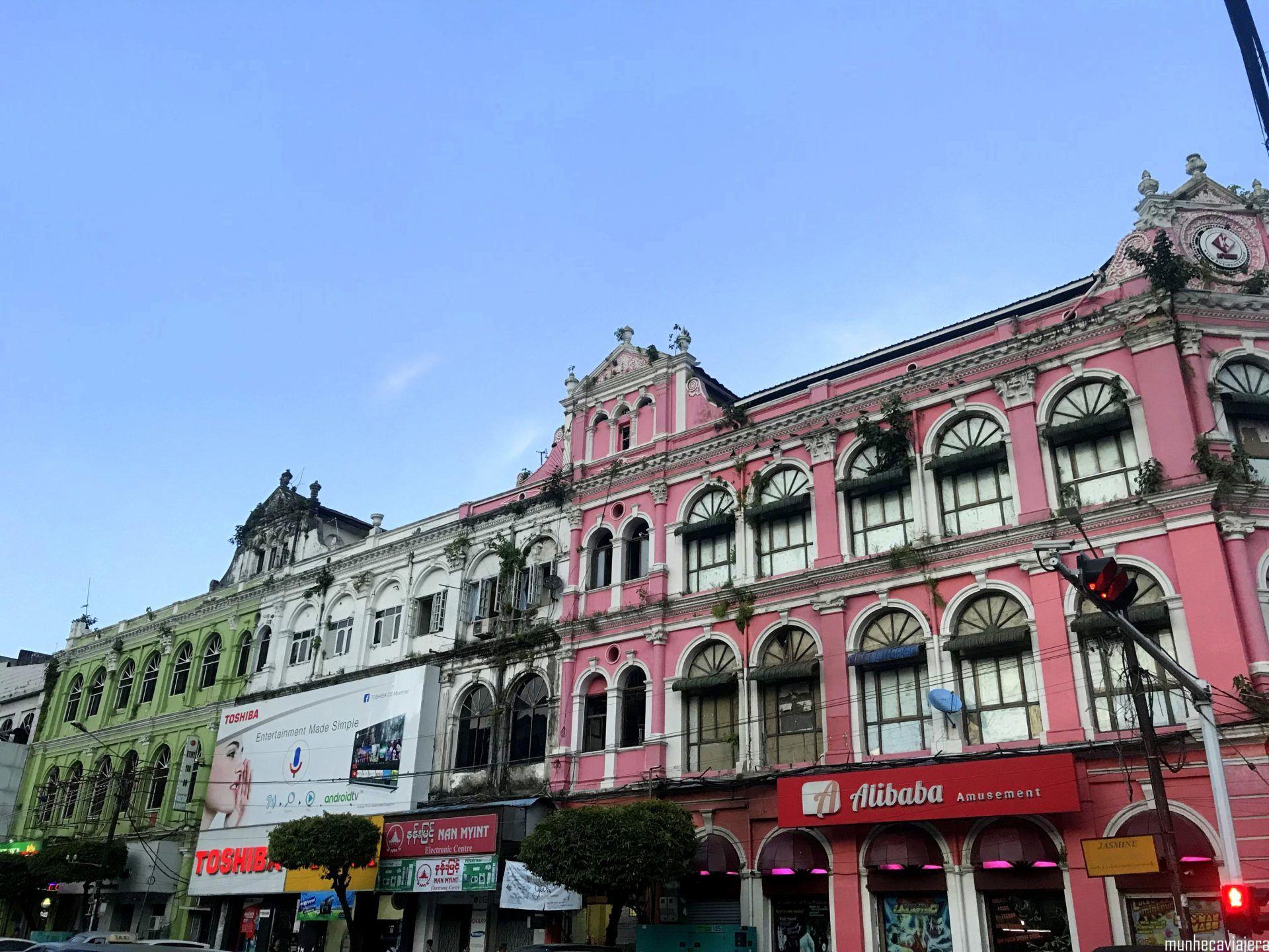 Yangon en un día