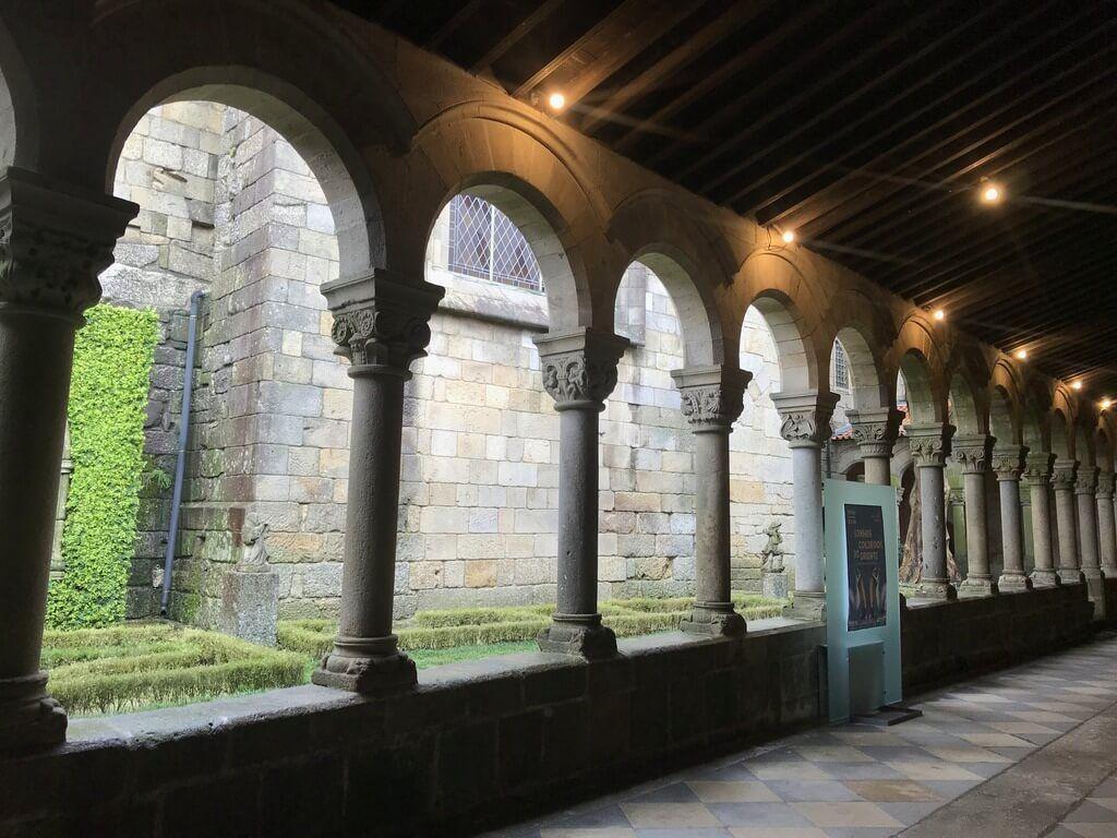 claustro del museo Alberto Sampaio