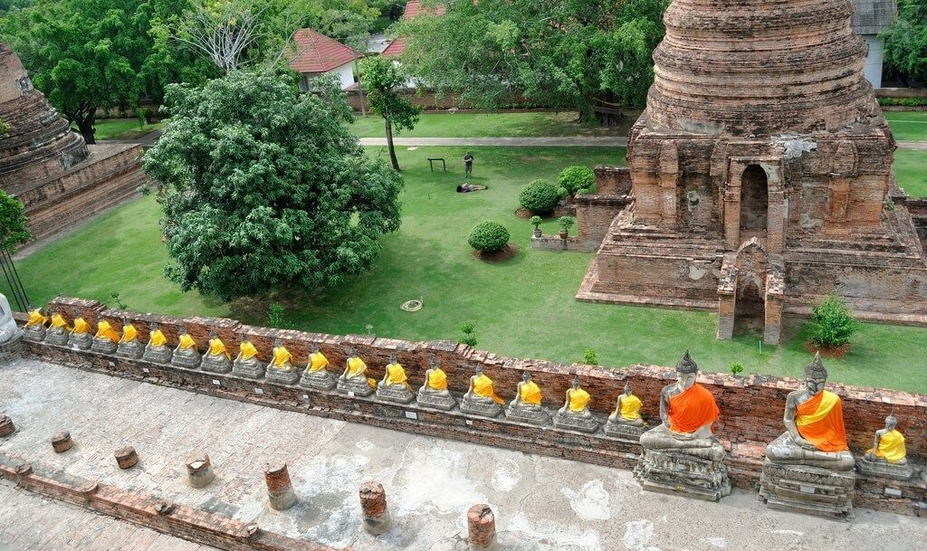 ayutthaya, antiguo reino de Siam