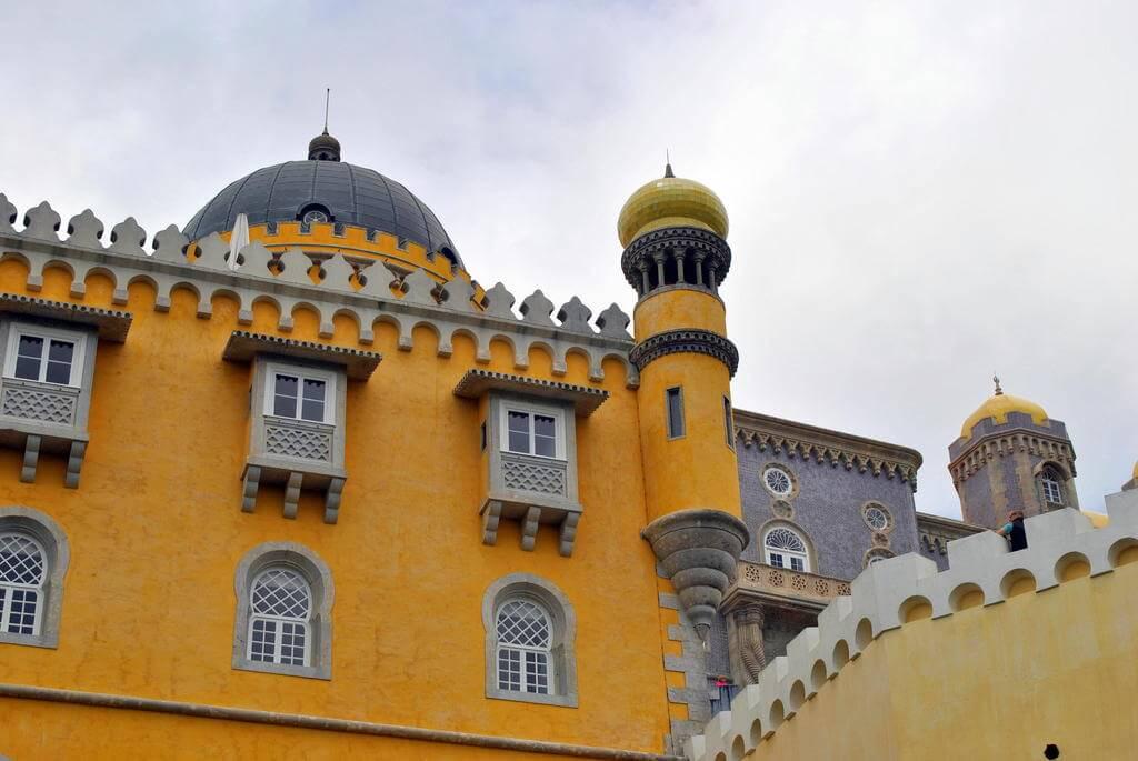 El bonito Palacio da Pena